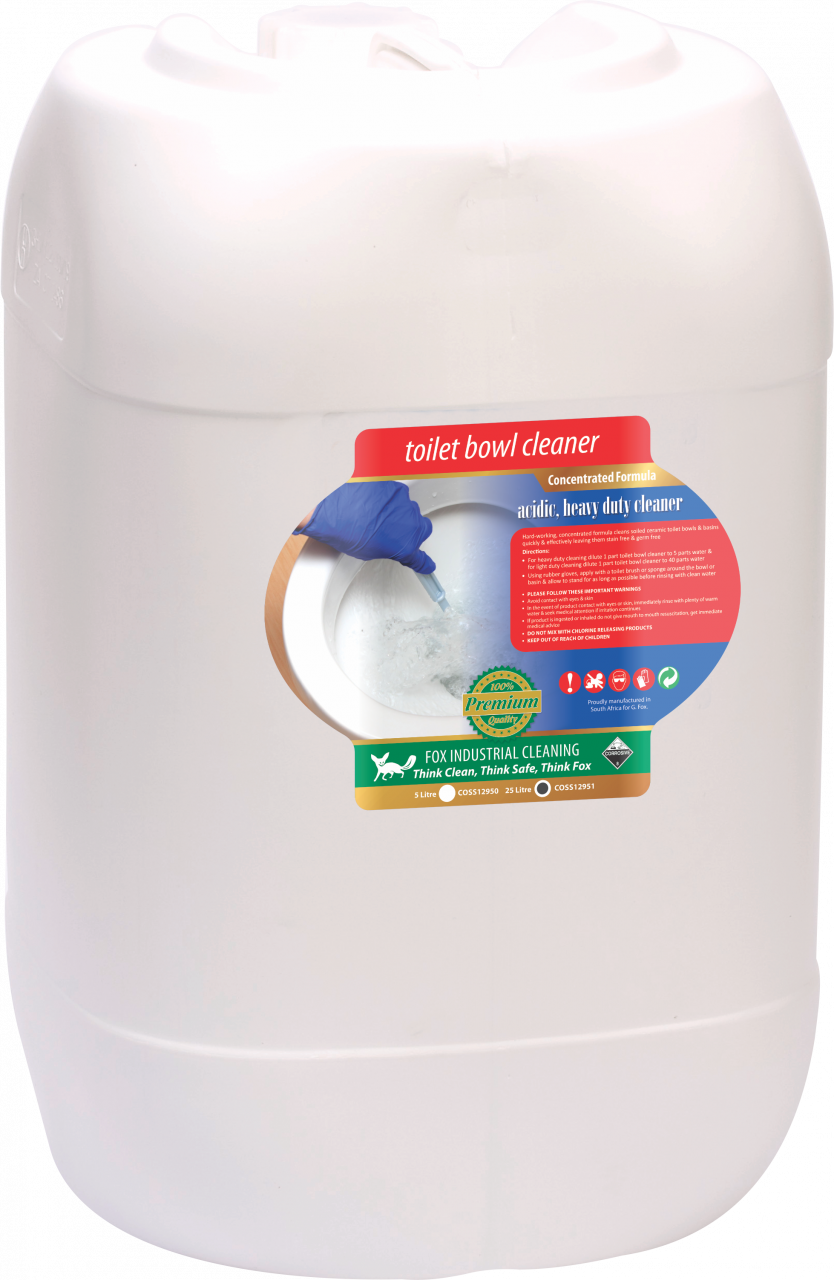 TOILET BOWL CLEANER & DISINFECTANT