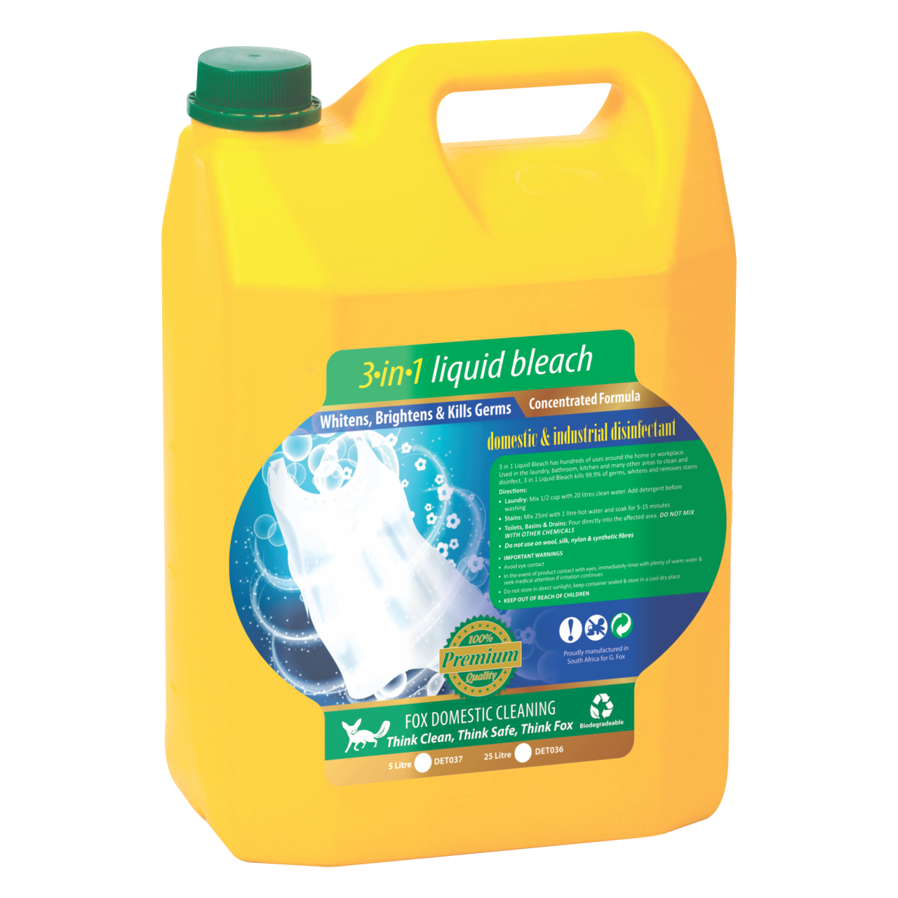 MULTI-SURFACE LIQUID BLEACH