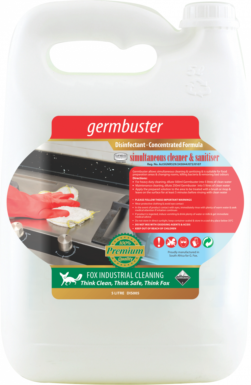 MULTI-SURFACE DISINFECTANT GERM BUSTER
