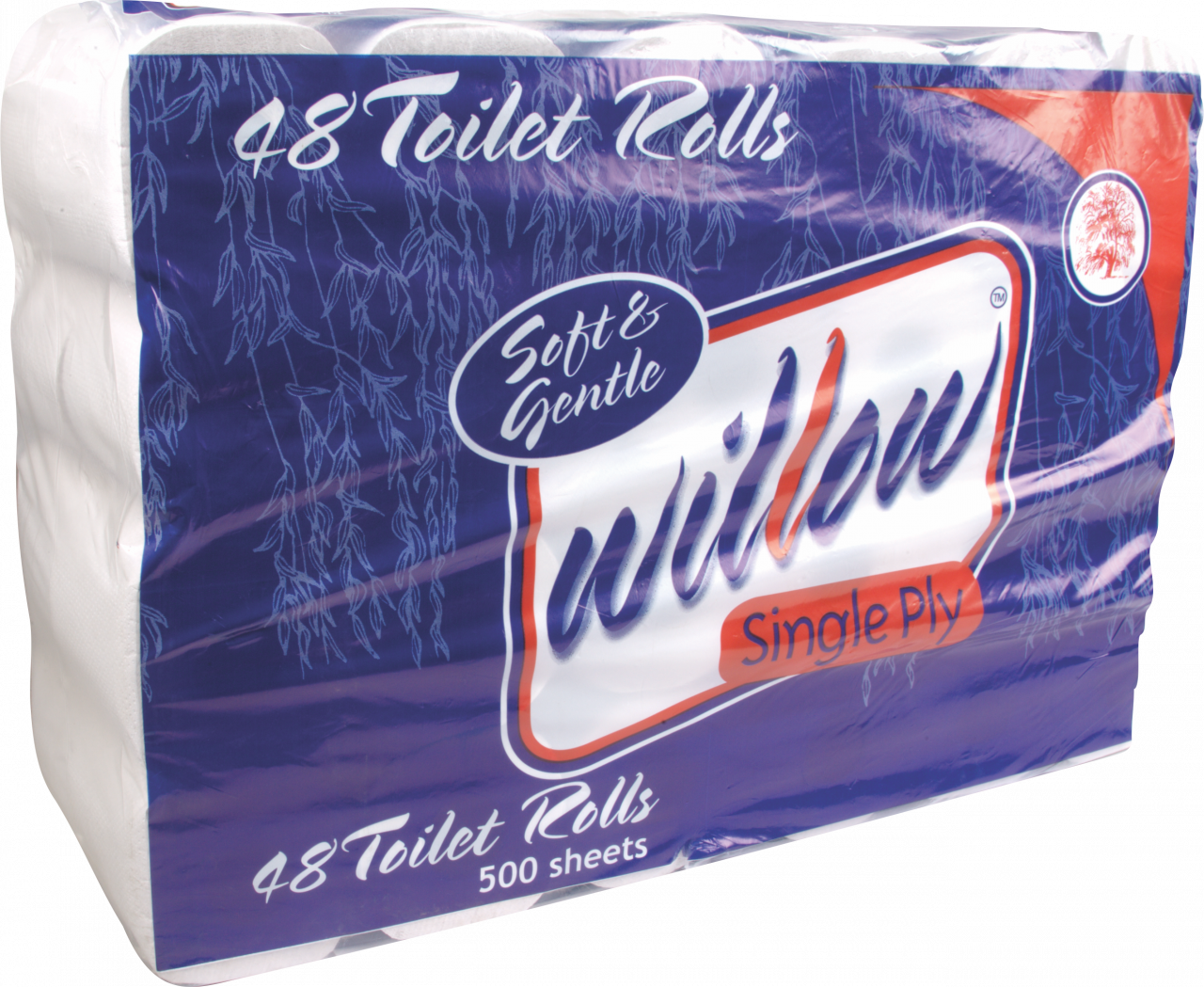 WILLOW ECONOMY 1 PLY TOILET TISSUE