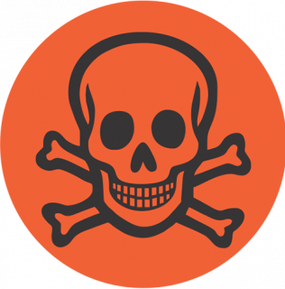 Poisonous logo
