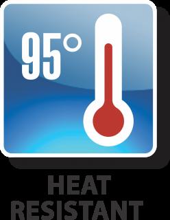 Heat Resistant 95° logo