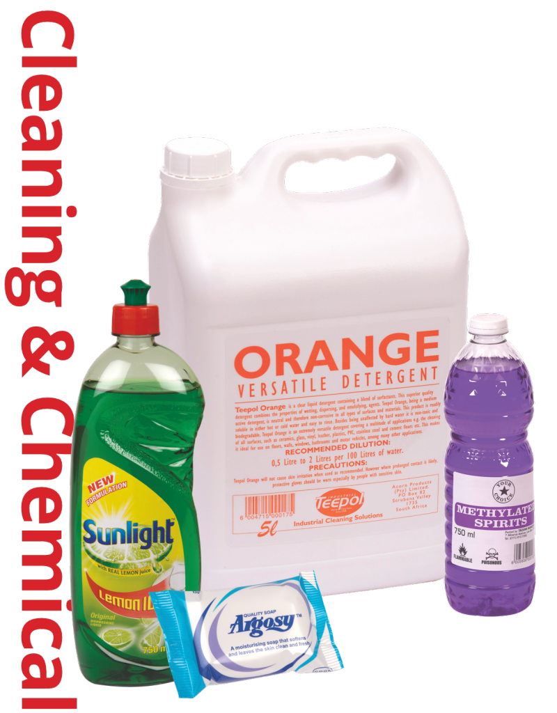 Cleaning & Chemical Products